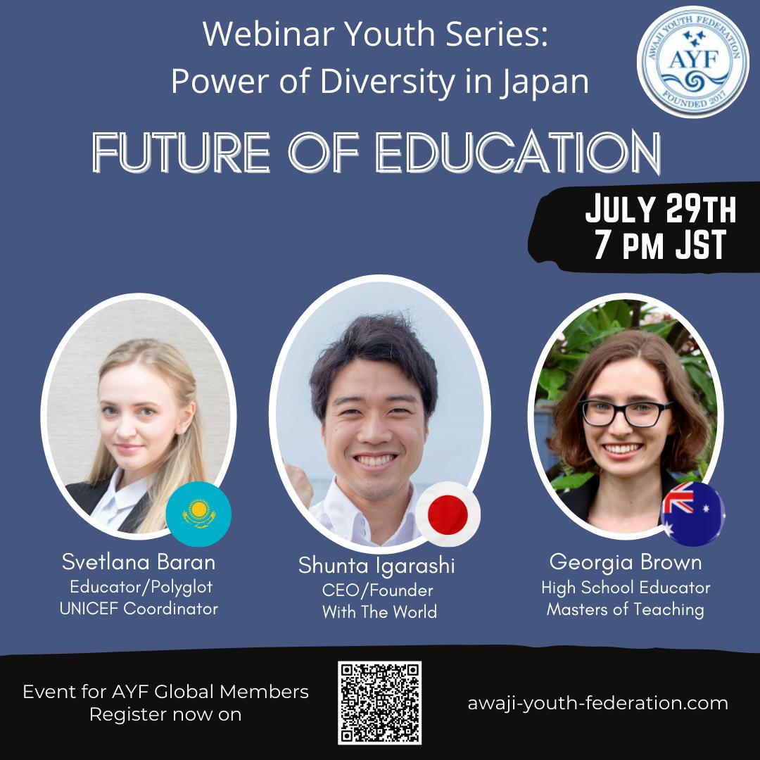 [Webinar Youth Series] Future of Education