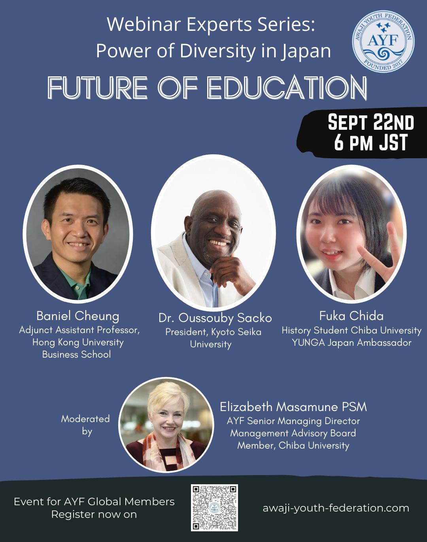 [Webinar Expert Series] Future of Education