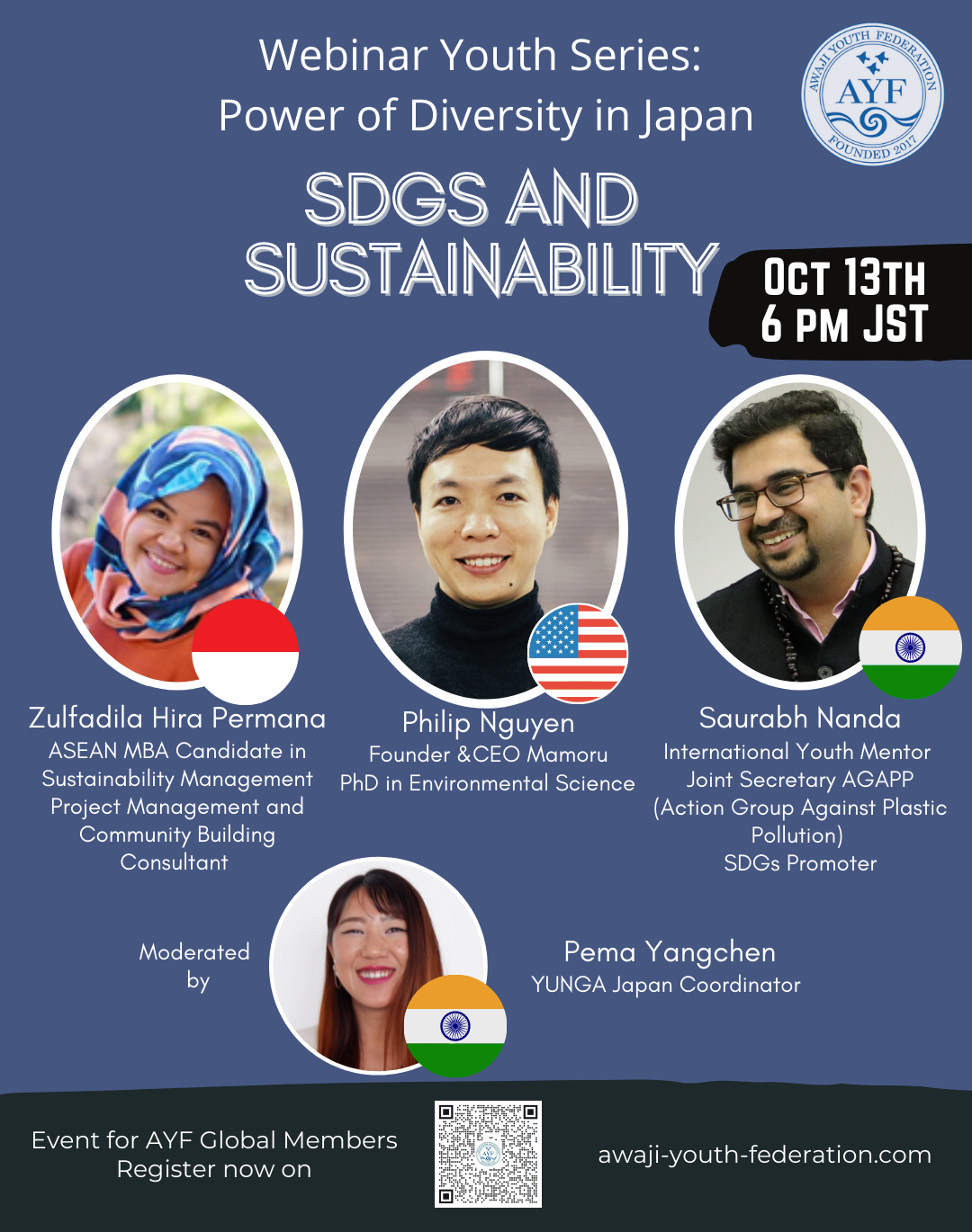 [Webinar Youth Series] SDGs and Sustainability